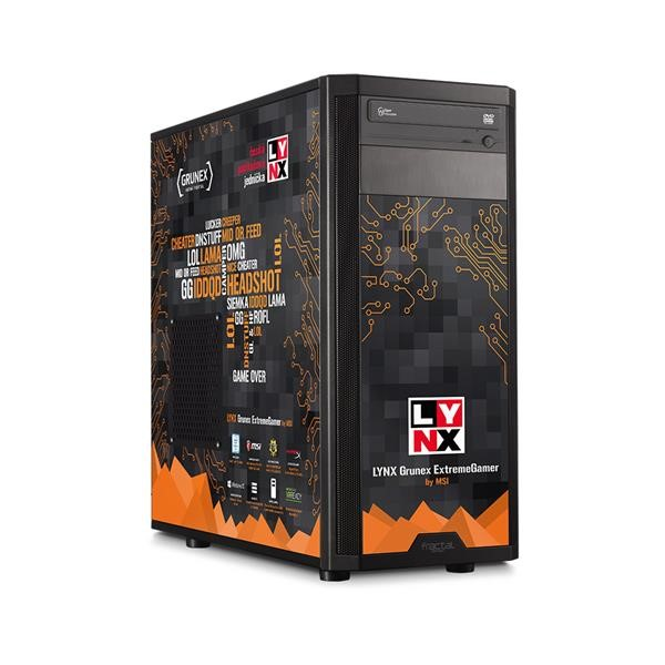 Herní počítač LYNX Grunex ExtremeGamer 2016 W10 HOME