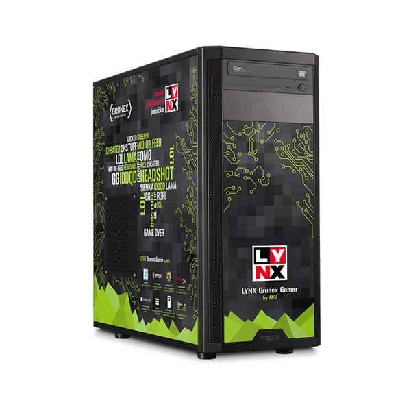 Herní počítač LYNX Grunex Gamer 2016 W10 HOME