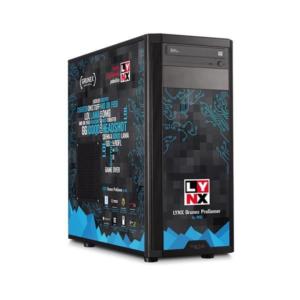 Herní počítač LYNX Grunex ProGamer 2016 W10 HOME