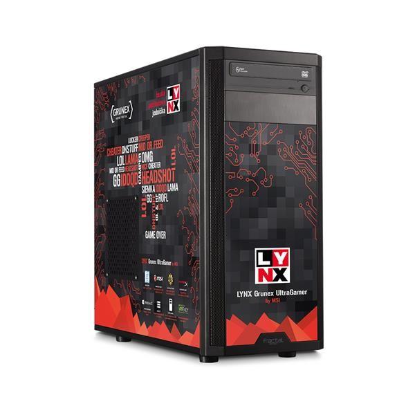 Herní počítač LYNX Grunex UltraGamer 2016 W10 HOME